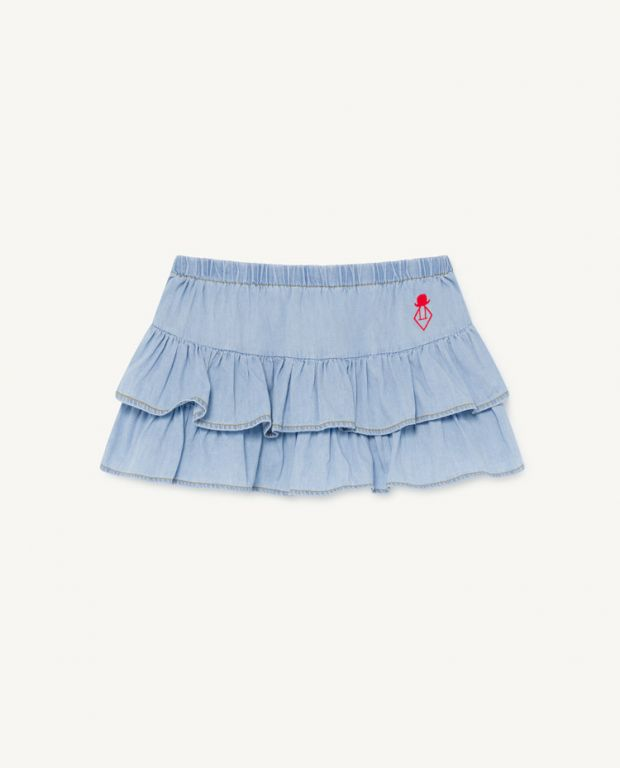 Denim Kiwi Skirt