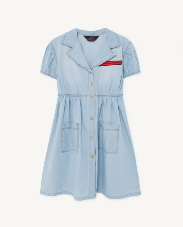 Denim Dolphin Dress