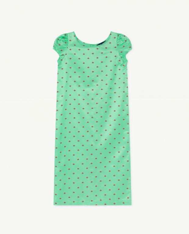 Green Giraffe Dress