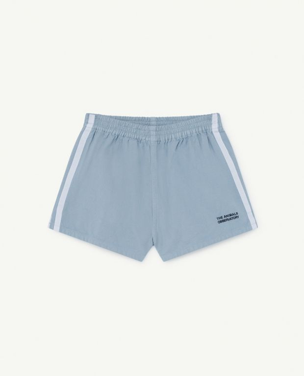 Pale Blue Spider Shorts