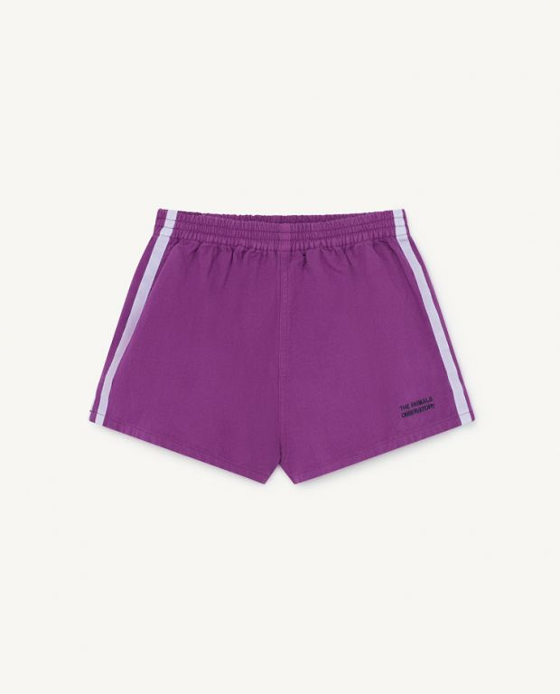 Purple Spider Shorts