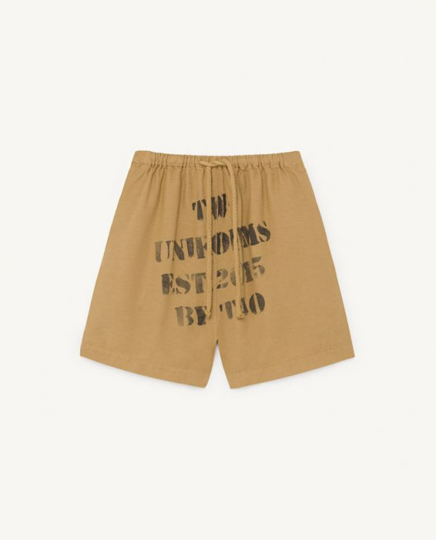 Brown Bee Bermudas
