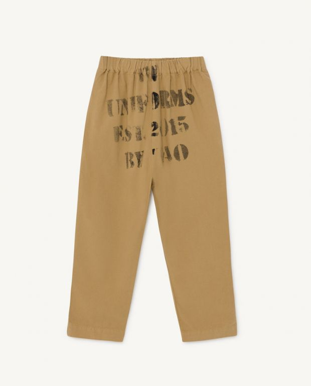 Brown Elephant Pants
