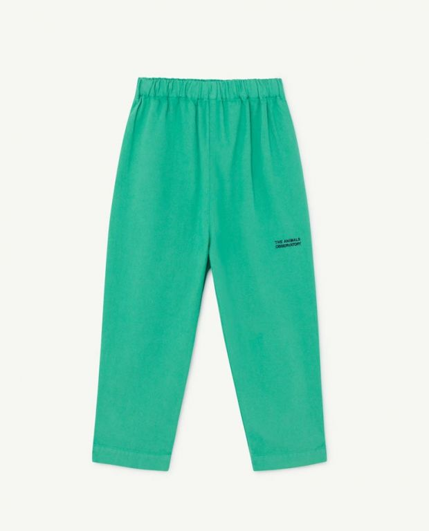Green Elephant Pants