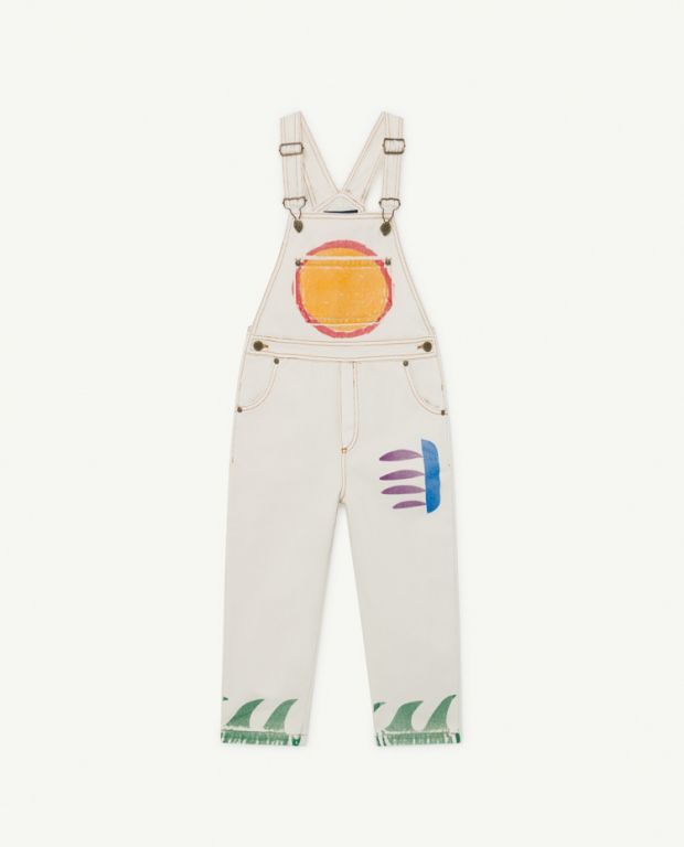White Mule Dungaree