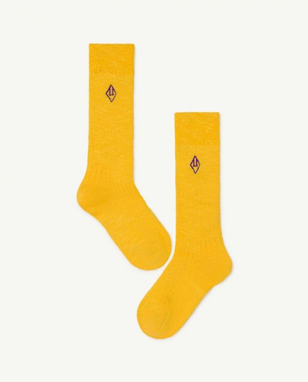 Yellow Skunk Socks