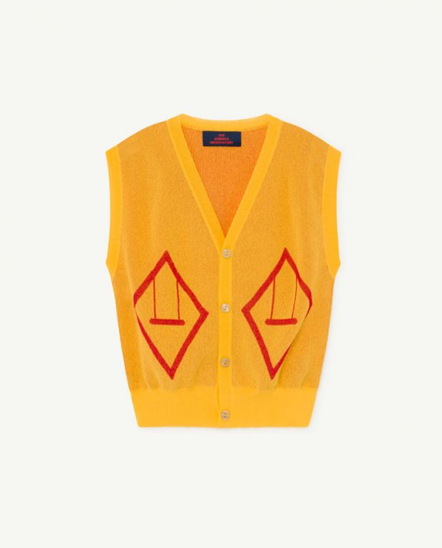 Yellow Bat Vest