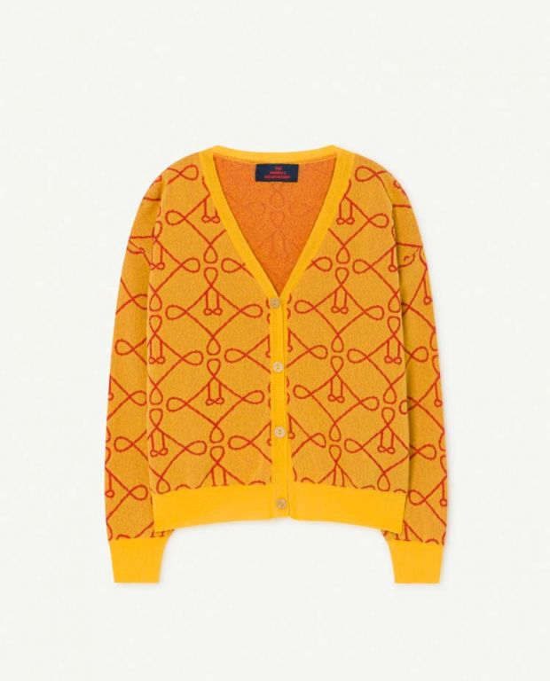 Yellow Racoon Cardigan