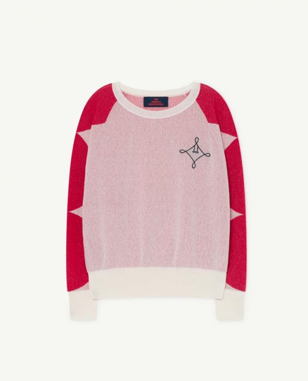 White Dot Bull Sweater