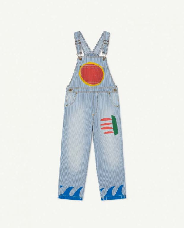 Striped Mule Dungaree