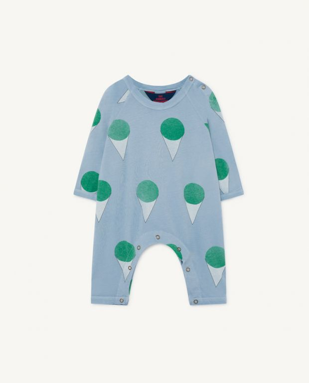 Pale Blue Owl Baby Pyjamas