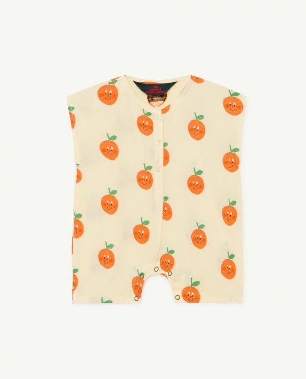 Fruit Goose Baby Jumpsuit