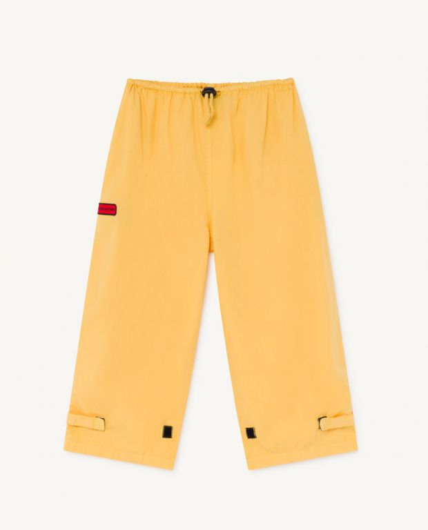 Yellow Eel Trousers