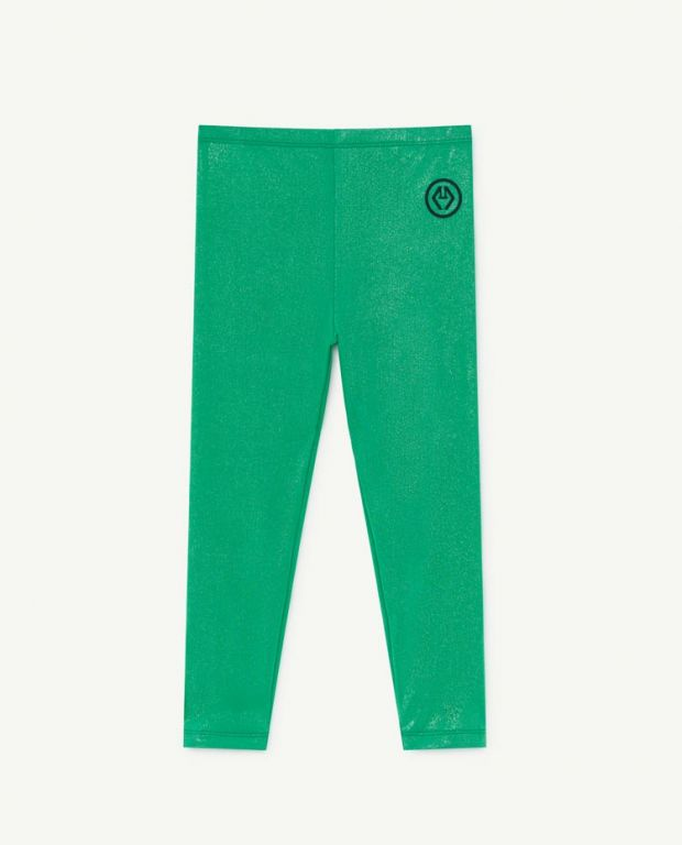 Bright Green Alligator Leggings