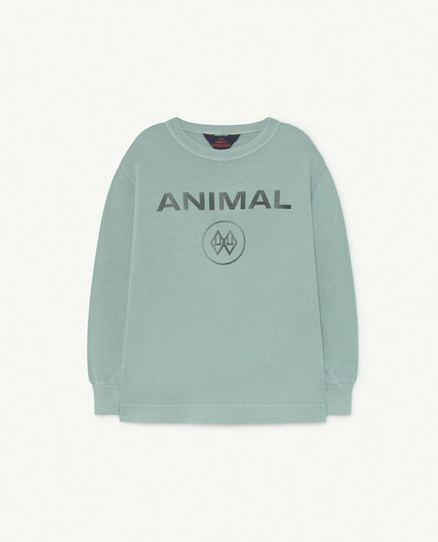 Blue Animal Dog T-Shirt