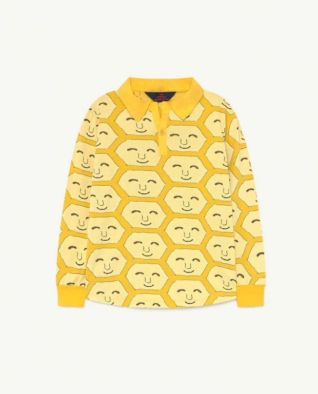 Yellow Face Eel Jersey Top