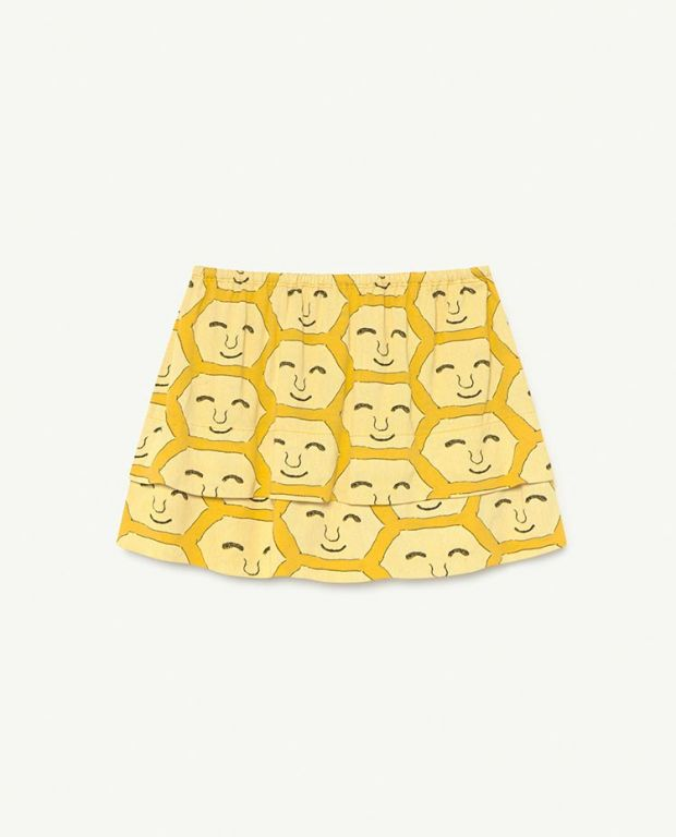Yellow Face Wombat Skirt