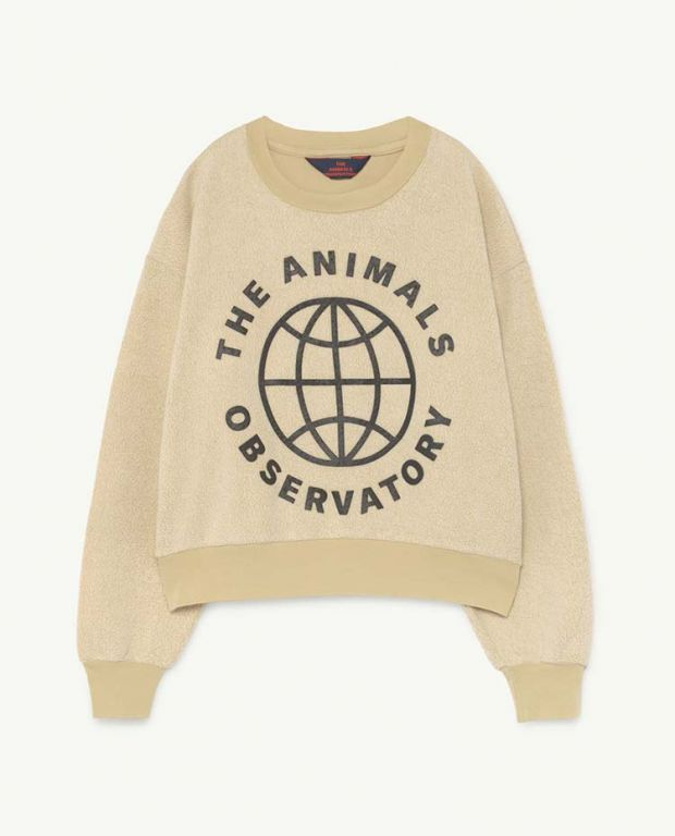 Yellow Planet Bear Sweater