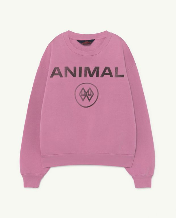 Pink Animal Bear Sweater