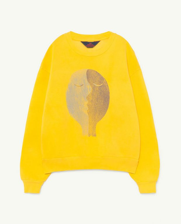 Yellow Face Bear Sweater