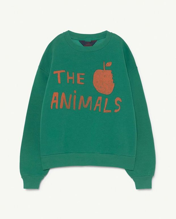 Green Apple Bear Sweater