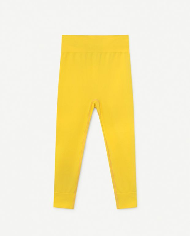 Yellow Alligator Slouch Bottoms