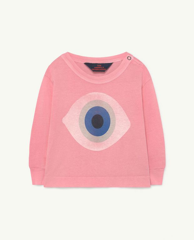 Baby Pink Eye Dog T-Shirt