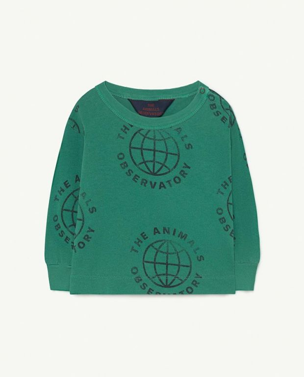Baby Green Planet Dog T-Shirt