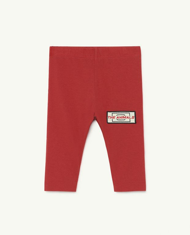 Baby Red Animals Penguin Pants