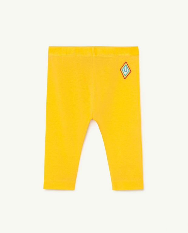 Baby Yellow Logo Penguin Pants