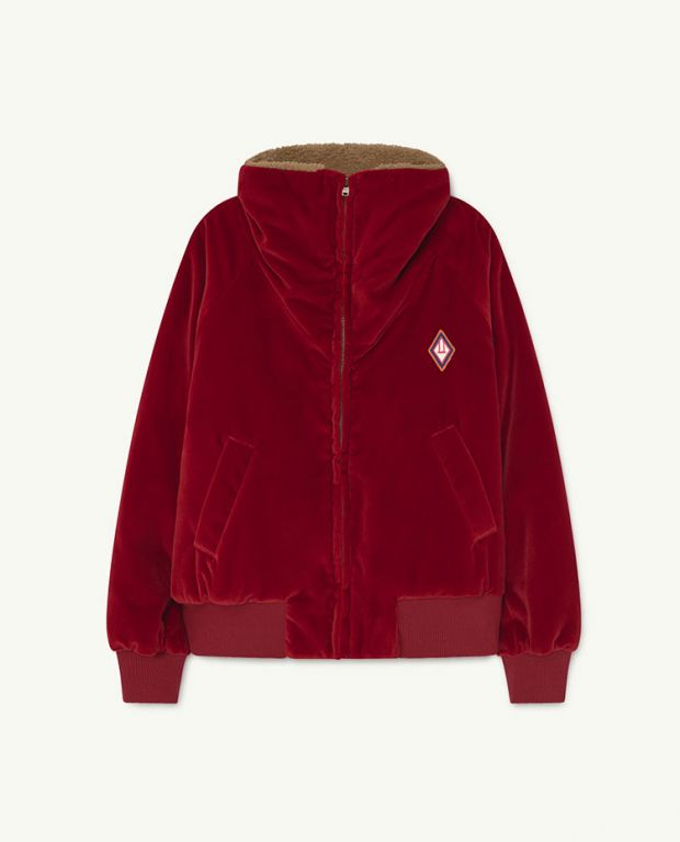 Red Tiger Padded Fleece