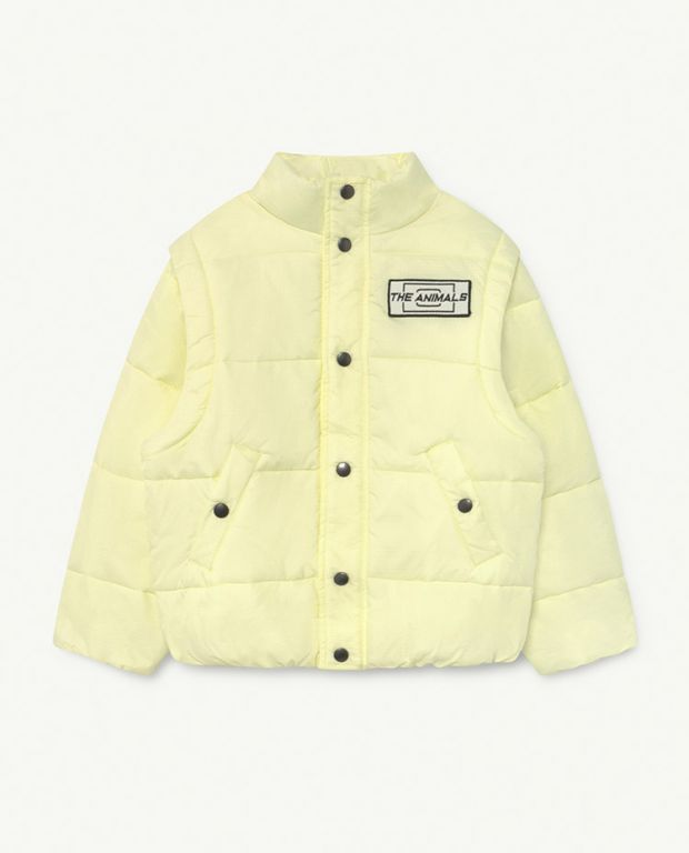 Yellow The Animals Lemur Jacket