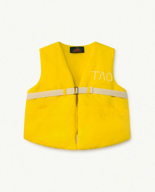 Yellow TAO Lamb Vest