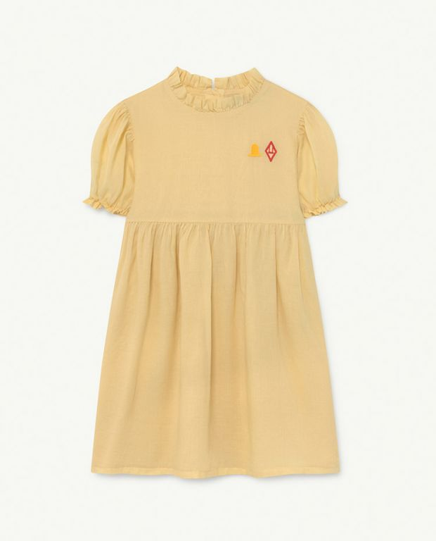 Yellow Logo Mouse Tunic