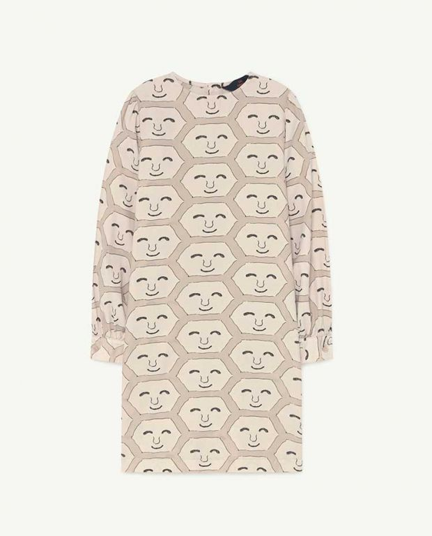 Pink Face Tortoise Dress