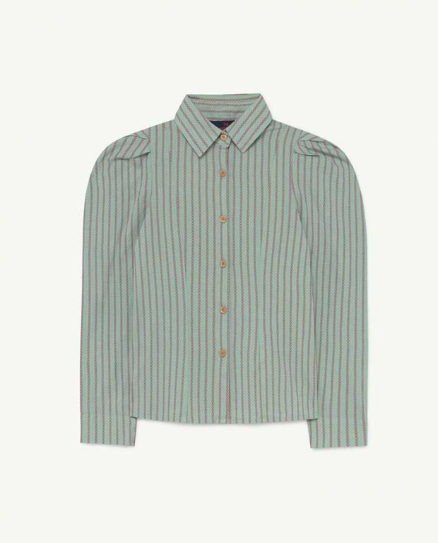 Blue Stripes Gadfly Shirt