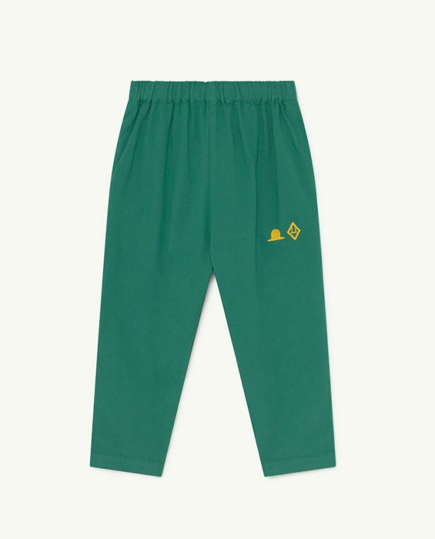 Green Hat Elephant Trousers