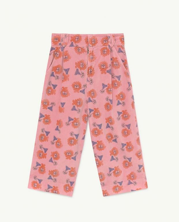 Pink Lions Emu Trousers