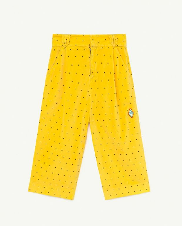 Yellow Dots Emu Trousers