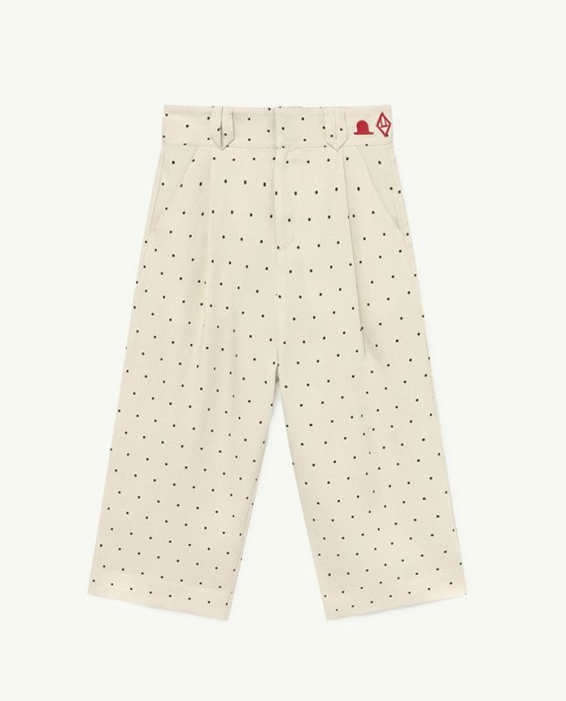 White Dots Emu Twill Trousers