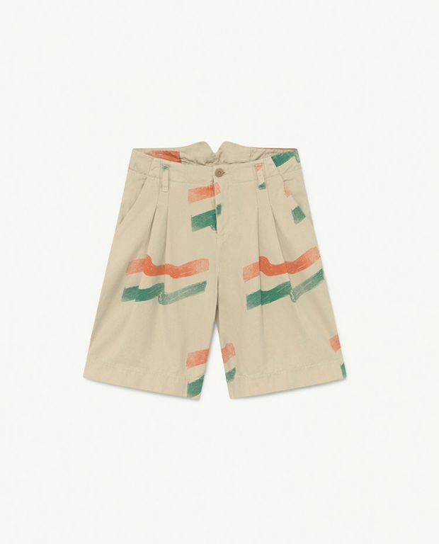 White Flag Monkey Shorts