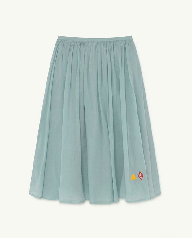 Blue Logo Ferret Skirt