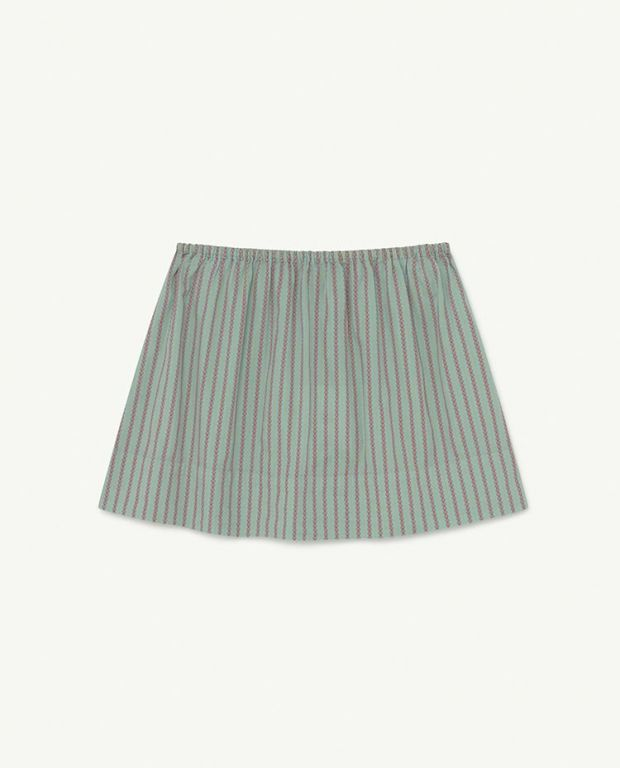 Blue Stripes Kiwi Skirt