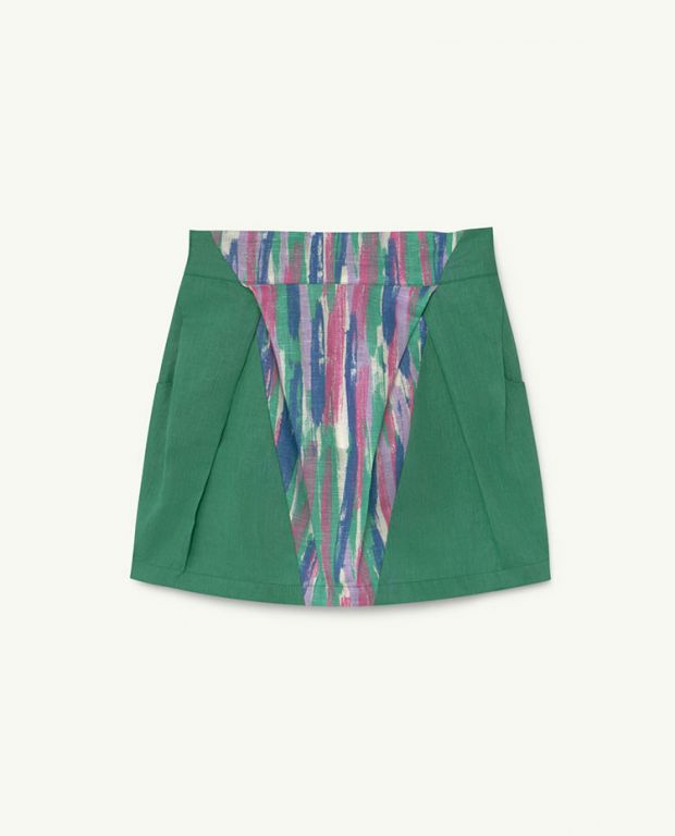 Green Colours Salamander Skirt