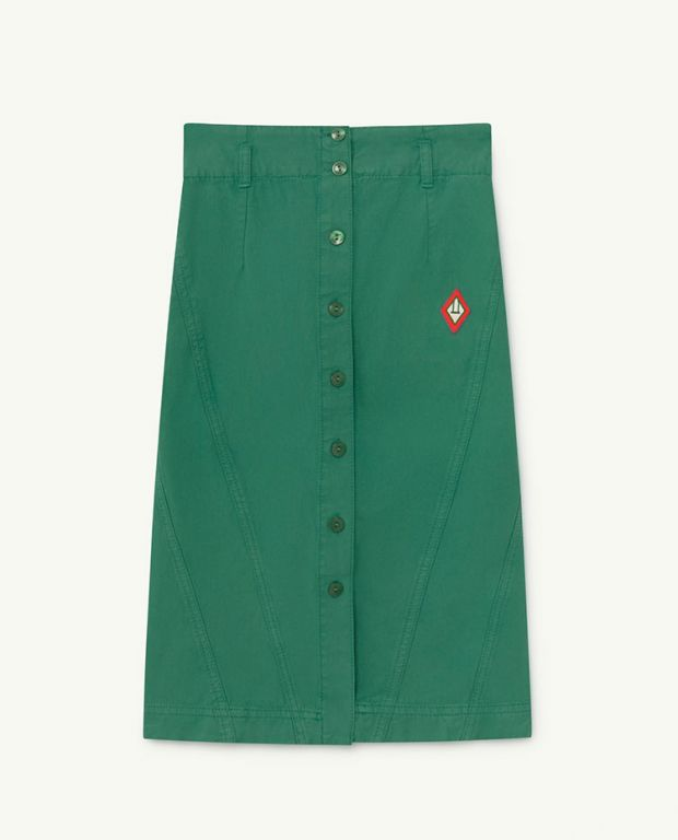 Green Logo Sow Skirt