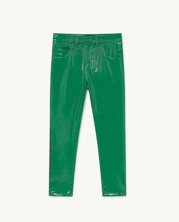 Green The Animals Mosquito Trousers