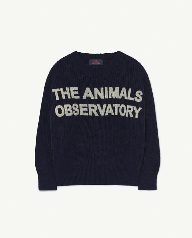 Blue Animals Tao Bull Knit