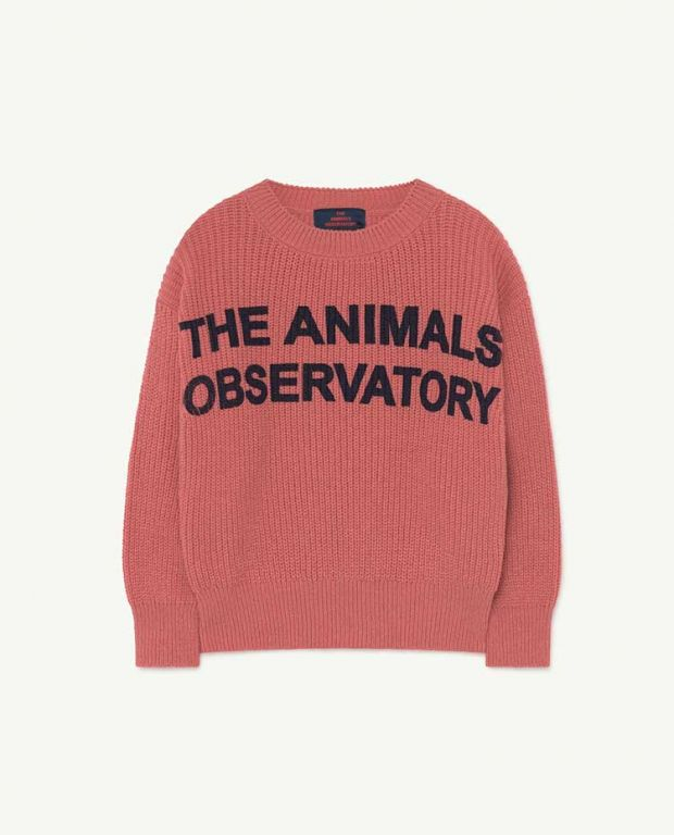 Pink Animals Tao Bull Knit