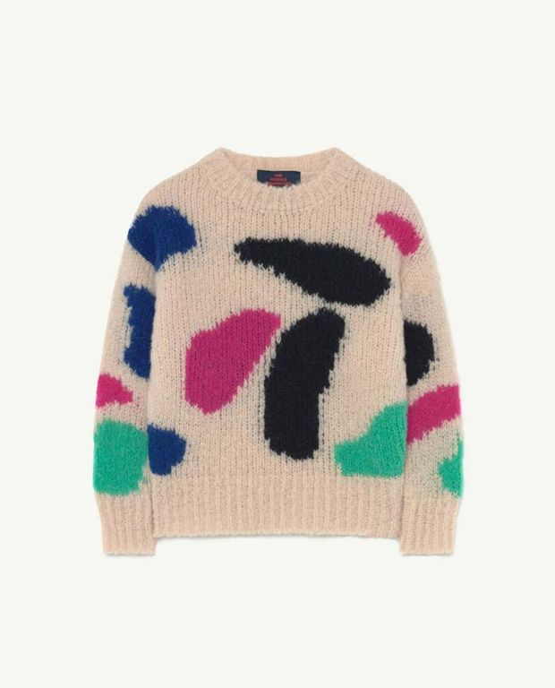 Pale Rose Arty Bull Jumper