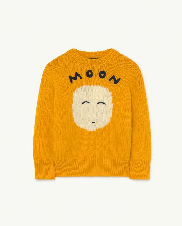 Yellow Space Bull Knit